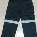 navy hi vis kids work pants